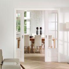 Uşă dublă de interior vopsită HGM Park Lane 2220 Sprossen