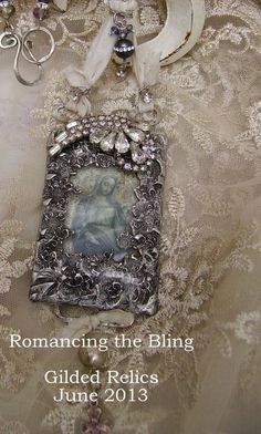 Gilded Relics by Romancing the Bling <3 --- visit the blog for workshop details