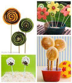 Fun Food on a Stick for Kids, 4 Ways