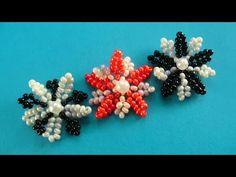 Плетение бисером цветы - YouTube