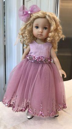 "10"" Doll Boneka Dianna Effner Tuesday's Child Special Occasion Dress 24cm #Boneka"