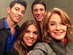 Ben, Abigail, Chad, and Marlena. #DAYS