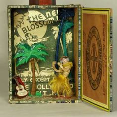 Cigar Box Dioramas