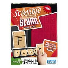 Stuck inside? Play the Scrabble Slam Deluxe Card Game  $11.08