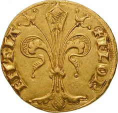 Fiorino d'oro, minted by the Republic of Florence 1252-1303. In the wake of the Crusades, gold coins returned to Europe. Genoa and Florence minted gold guldens, while Venice issued ducats.