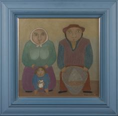 Hagelstam & Co Naive Art, Finland, Over The Years, Surrealism, Illustrations, Traditional, Portrait, Artist, Painting