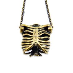 Rib Cage Necklace