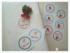 Christmas gift tags for children