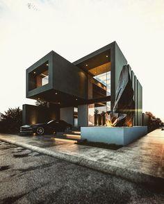 """Each design has own history.."" | Diamond Villa | Aalborg, Denmark.. #architect CarlosNuñez on Instagram"