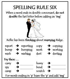 spelling_rule_six.jpg 696×786 pixels | Spelling | Pinterest