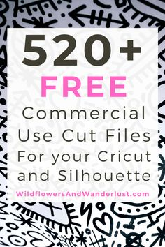 The giant list of places to find free SVG files that you can use in your cutting machine - Silhouette, Cricut, Brother and many more. Cricut Svg Files Free, Cricut Fonts, Cricut Vinyl, Vinyle Cricut, Plotter Silhouette Portrait, Cricut Explore Projects, Ideas For Cricut Projects, Vinyl Craft Projects, Cajas Silhouette Cameo