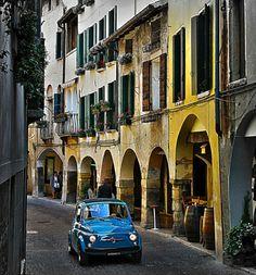 Fiat 500 Veneto Asolo #TuscanyAgriturismoGiratola