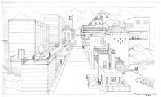 50 Best Practicing Perspective Drawing images