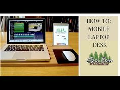 How To : Build a Mobile Laptop Desk #howto #DIY #macbook
