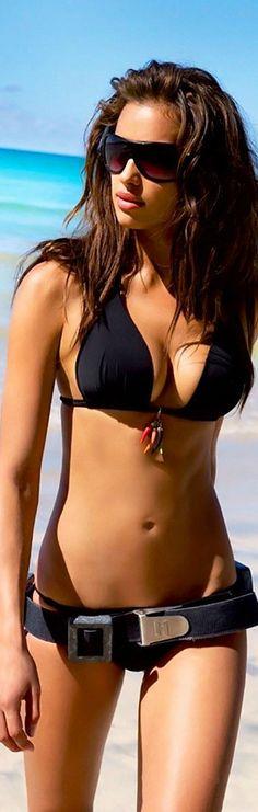 I love a classic black bikini! Its like having that one black dress in your closet!