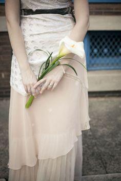 single large calla lily bridesmaid bouquet - Google Search