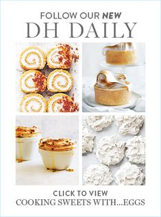 Donna Hay kitchen tools, homewares, books and baking mixes. Quick and easy dinner or decadent dessert - recipes for any occasion. Lemon Meringue Cheesecake, Meringue Cake, Homemade Desserts, Dessert Recipes, Three Milk Cake, Syrup Cake, Sticky Date Pudding, Caramel Crunch, Bread And Butter Pudding