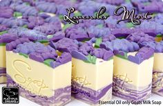 Essential oil natural handmade soap