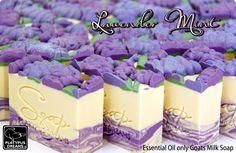 Essential oil natural handmade soap