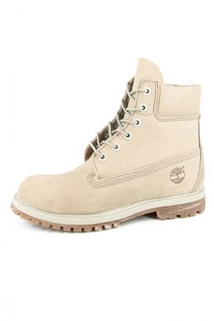 Timberland Womens Boots Off White