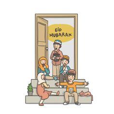 Eid Mubarak Wishes and Wallpapers, Eid Blessings, Eid Mubarak Wallpapers, Happy Eid images Eid Mubarak Quotes, Eid Mubarak Card, Hajj Mubarak, Ramadan Mubarak, Behance Illustration, Illustration Vector, Illustrations, Eid Mubarak Animation, Happy Ied Mubarak