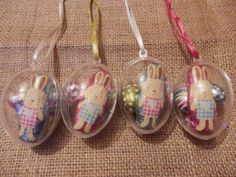 Hanging Easter eggs. Easter gifts. Easter by Pearlypantscrafts, £8.00