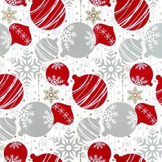 Giftwrap Metallic Baubles 50cmx50mx80gsm | Giftwrap | Paper for Wrapping Presents | Oceans FloralYou can't go past our beautiful range of gift wrap, the perfect paper for wrapping your presents and gifts. We have designs for all occasions, whether you want value for money or a luxury look,