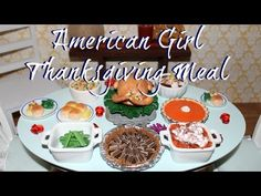 How to make American Girl Pizza Party Set - YouTube
