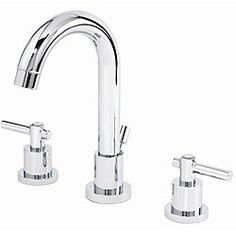 Chrome Finish Certified Widespread Bathroom Faucet