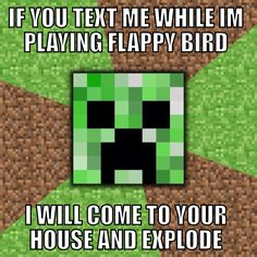 It's so true for creepers