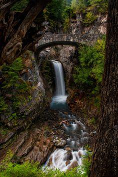Christine Falls Van Trump Creek - Pierce County - Washington - USA
