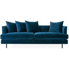 Margot Sofa in Multiple Colors design by Gus Modern ($2,199) ❤ liked on Polyvore featuring home, furniture, sofas, sofa, multi colored furniture, colorful couches, gus modern couch, gus modern sofa and colorful sofas