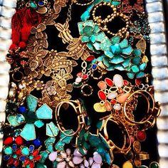 Around The Office: @OscarPRgirl Pre-Fall jewelry. #NMinsider