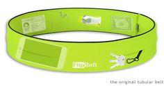 FlipBelt – Fitness Running Belt for Phones & Accessories.  Or perfect for Ella's insulin pump!