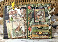Zoo Party Ensemble, Safari Adventure by Kathy Clement, Product by Graphic 45 Photo 26