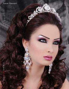 Arabic Bridal Makeup 2013