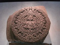 Aztec Calendar, Anthropology Museum: Mexico City, Mexico (November 2010)