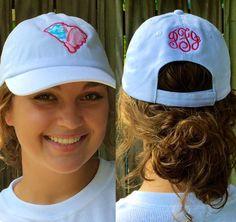 South Carolina Lilly Hat by monogramsmandm on Etsy