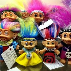 Trolls!! I used to collect these