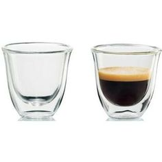 Glass half full...half empty...with espresso.