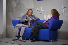 Harald Martenstein auf dem Blauen Sofa, via Flickr.