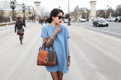 Blue and brown on Chicmuse