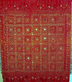 Embroidery shawl from India