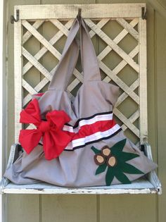 SALE - Ohio State Buckeyes Inspired Purse