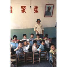 Kindergarten Beijing, 1973 © Bruno Barbey