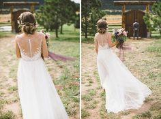 #MaggieBride Elisabeth wearing Melinda by Sottero and Midgley | Colorado Wedding | Victoria Carlson Photography