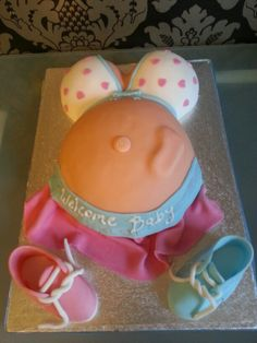 Another baby shower cake made by meee...