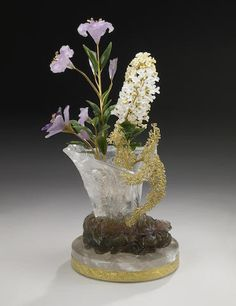 Spectacular Carved Flower Study
