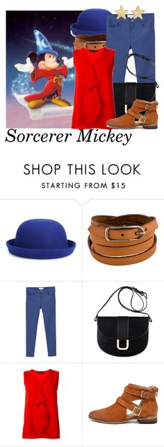 """DM nerds"" by aksmasads ❤ liked on Polyvore featuring Disney, WithChic, Hermès, MANGO, A.P.C., Proenza Schouler, Chinese Laundry and Jennifer Meyer Jewelry"