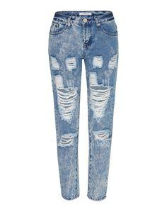 Lässige Boyfriend Jeans von Glamorous @ ABOUT YOU. Der perfekte Kombipartner für Bomber- und Blousonjacken. http://www.aboutyou.de/p/glamorous/jeans-jl5273-2229791?utm_source=pinterest&utm_medium=social&utm_term=AY-Pin&utm_content=2016-03-KW-13&utm_campaign=Denim-Board